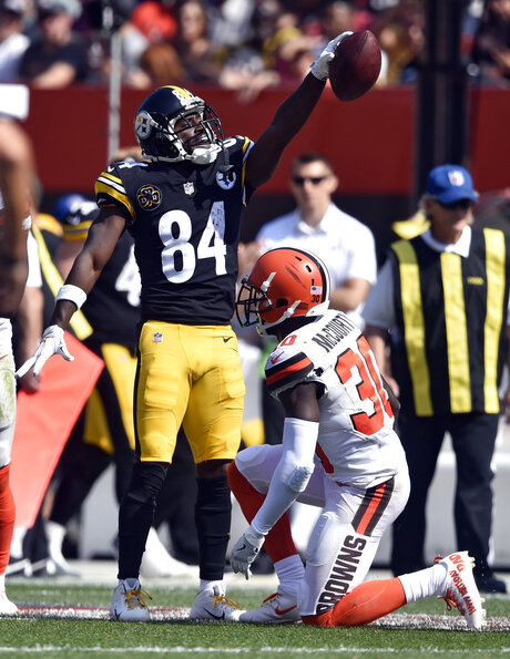 Jason McCourty, Antonio Brown