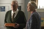 This image released by Roadside Attractions shows Christopher Plummer, left, and Diane Ladd in a scene from