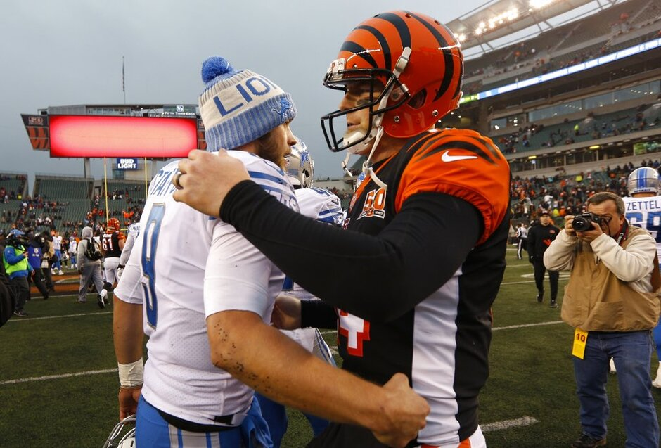 Matthew Stafford, Andy Dalton