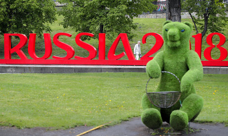 Russia Soccer WCup Daily Life