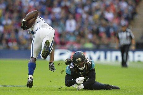 Britain Colts Jaguars Football