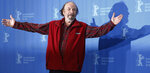 FILE - In this Wednesday, Feb. 11, 2009, file photo, U.S. actor Rip Torn poses during a photo call for the competition movie