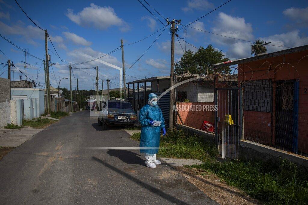 Virus Outbreak Uruguay