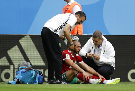 Russia Soccer WCup Morocco Iran