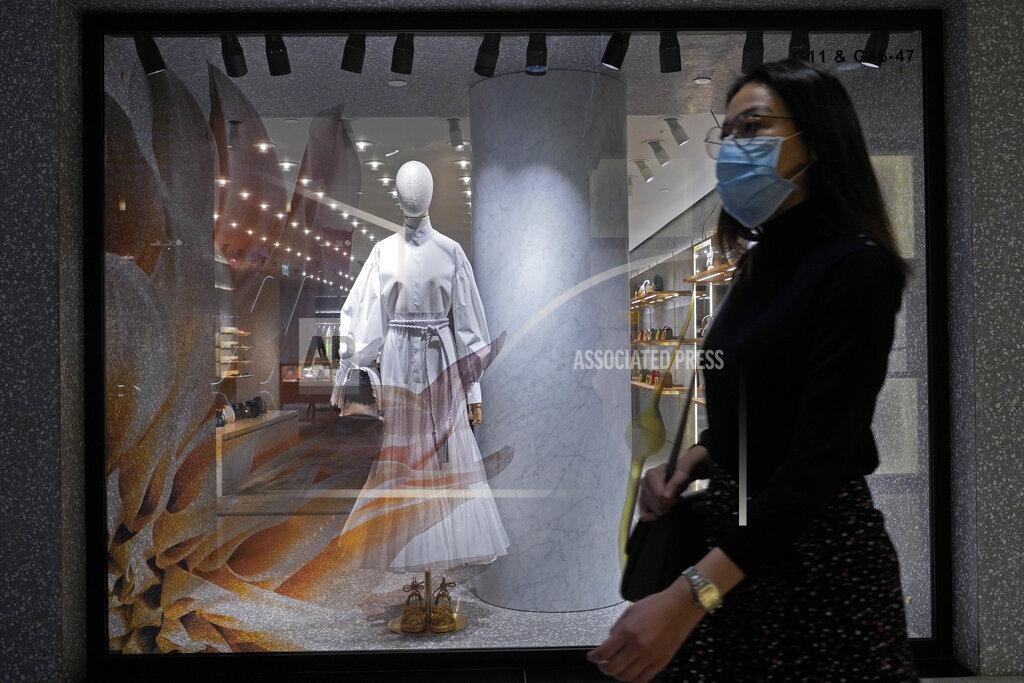 Virus Outbreak Hong Kong
