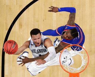 Final Four Kansas Villanova Basketball