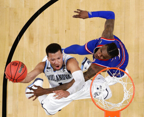 Final Four Kansas Villanova Basketball