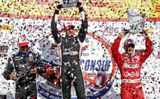 Will Power, Tony Kanaan, Juan Pablo Montoya