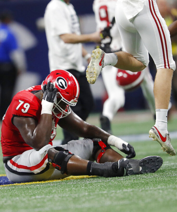 Georgia playoff longshot after Smart's fake punt flops