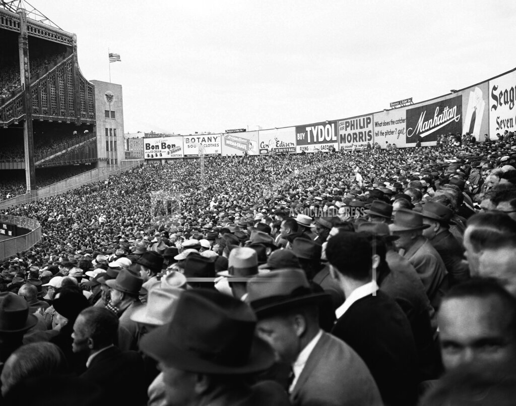 Watchf Associated Press Sports  New York United States APHS59157 Yankee Stadium