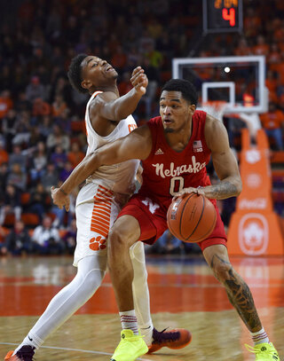 Nebraska Clemson Basketball