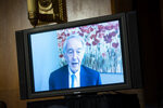 Sen. Ed Markey, a D-Mass., speaks virtually during a Senate Environment and Public Works Committee oversight hearing to examine the Environmental Protection Agency, Wednesday, May 20, 2020 on Capitol Hill in Washington.  (Al Drago/Pool via AP)