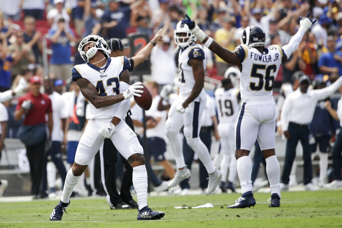 Johnson's reliable tackling helps Rams limit big pass plays