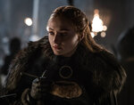 This image released by HBO shows Sophie Turner in a scene from