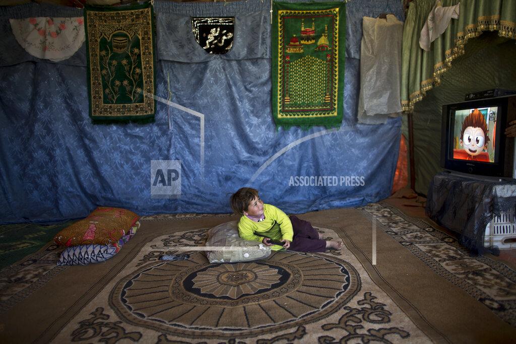 APTOPIX Mideast Jordan Syrian Refugees Photo Essay