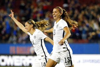 Alex Morgan, Morgan Brian