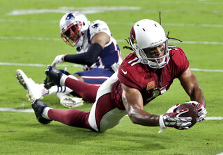 APTOPIX Patriots Cardinals Football