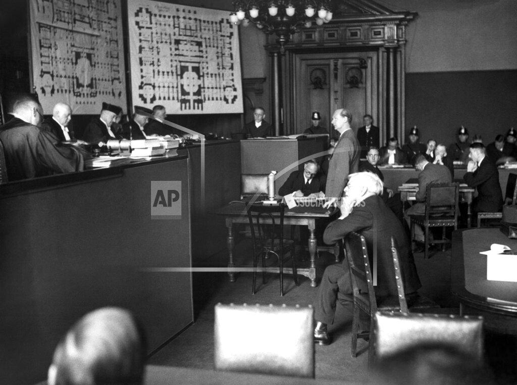 Watchf AP I   DEU APHS362327 Reichstag Arson Trial