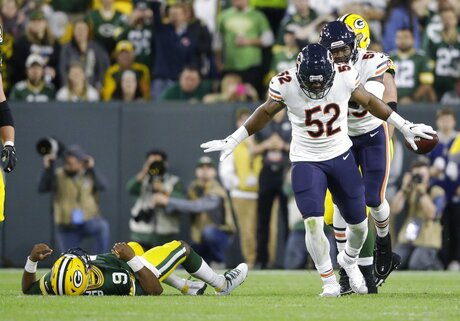 APTOPIX Bears Packers Football