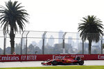 Ferrari driver Sebastian Vettel of Germany goes through turn 10 during the final practice session for the Australian Grand Prix in Melbourne, Australia, Saturday, March 16, 2019. The first race of the year is Sunday. (AP Photo/Andy Brownbill)