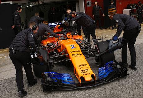 Spain F1 Preseason Testing