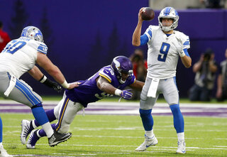 Matthew Stafford, Tom Johnson
