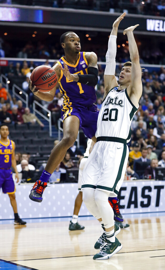 Smart becomes latest LSU player to enter NBA draft