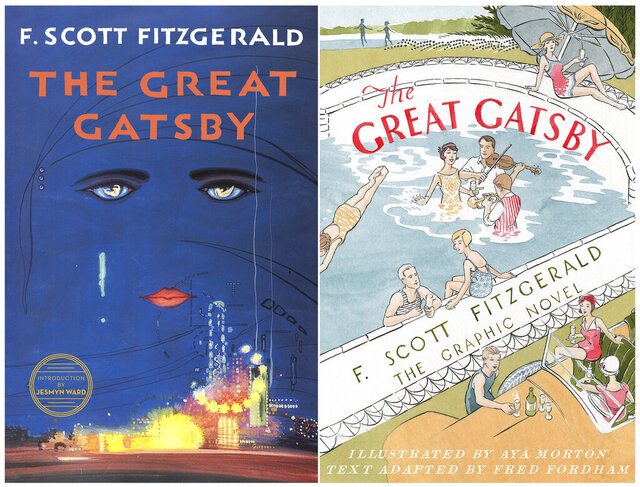 This combination of cover images released by Scribner shows the 2018 cover image of the novel