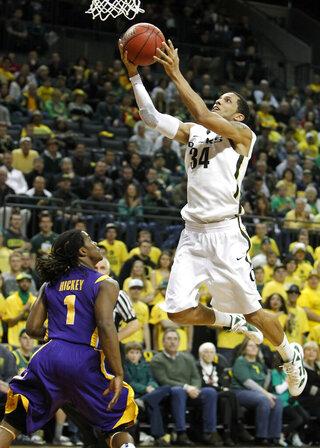 NIT LSU Oregon Basketball