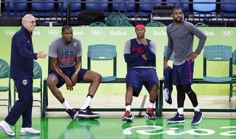 Jim Boeheim, Kevin Durant, Kyle Lowry, Kyrie Irving
