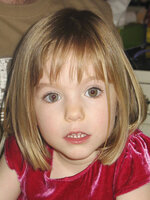FILE - This undated file photo shows Madeleine McCann. British police said on Wednesday June 3, 2020, a German man has been identified as a suspect in the case of a 3-year-old British girl who disappeared 13 years ago while on a family holiday in Portugal. (AP Photo/File)