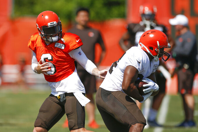 Off and running: Browns RB Chubb poised for breakout season
