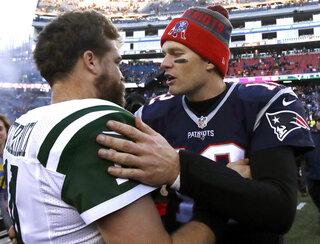 Ryan Fitzpatrick, Tom Brady