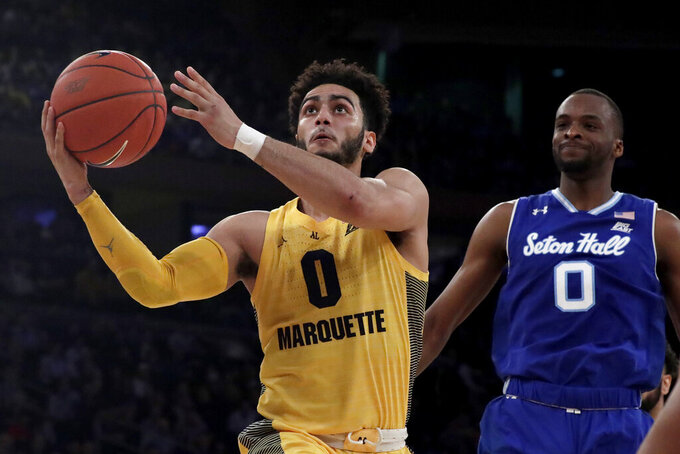 Seton Hall beats Marquette 81-79 to reach Big East final