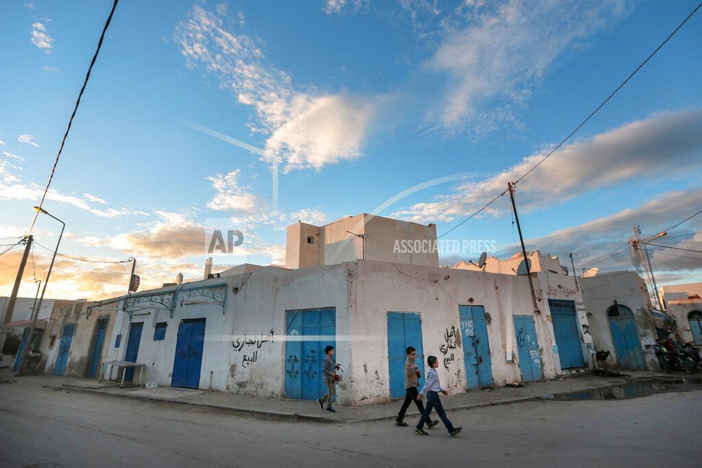 Mideast Tunisia Jews Photo Essay