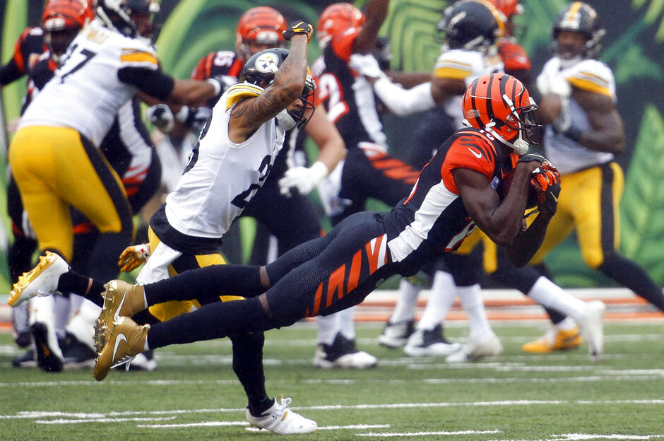 APTOPIX Steelers Bengals Football