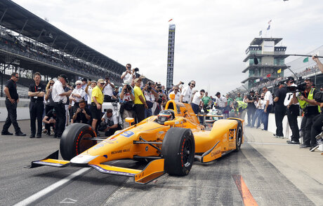 Indy 500 The Alonso Show Auto Racing