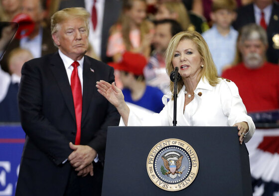 Donald Trump, Marsha Blackburn