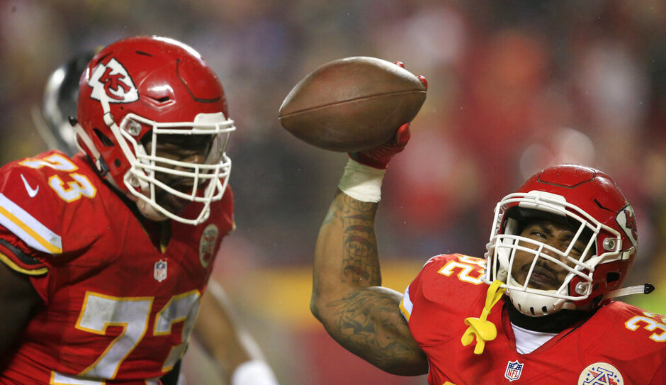 Spencer Ware, Zach Fulton