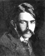FILE - This undated drawing shows author Stephen Crane. Crane is among this year's inductees into the New Jersey Hall of Fame announced Wednesday, Aug. 5, 2020.  (AP Photo, File)