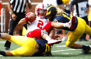 Nebraska Michigan Football