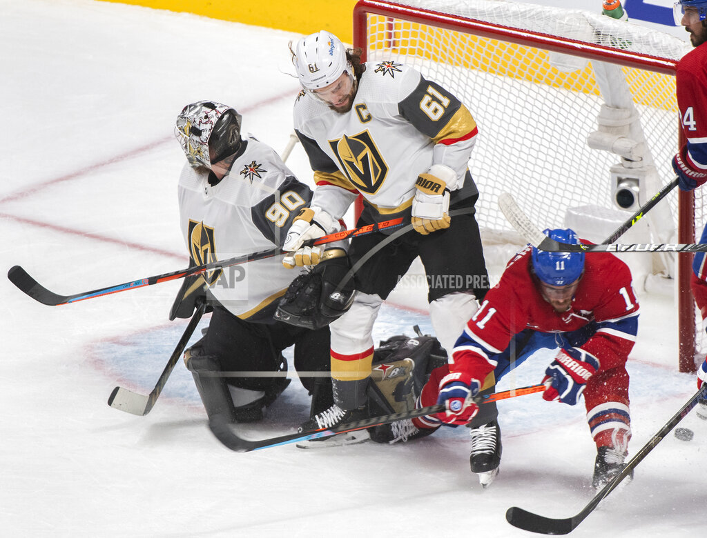 Golden Knights Canadiens Hockey