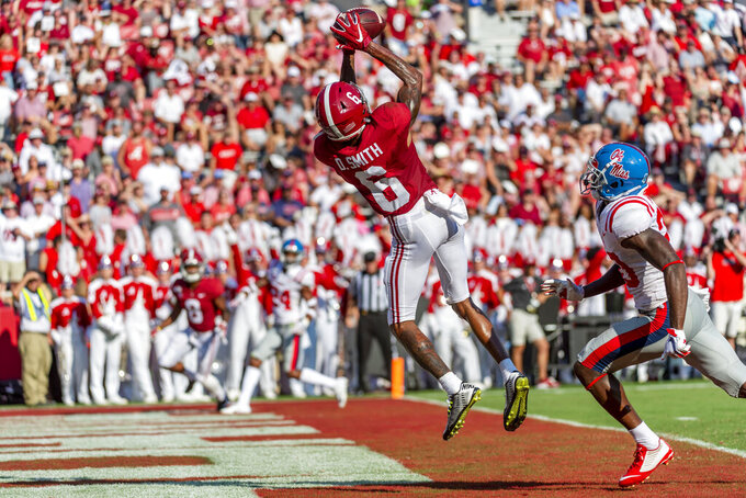 No. 1 Clemson stops 2-point try to beat North Carolina