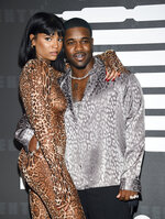 Rapper A$AP Ferg, right, and girlfriend Renell Medrano attend the Spring/Summer 2020 Savage X Fenty show, presented by Amazon Prime, at the Barclays Center on Tuesday, Sept, 10, 2019, in New York. (Photo by Evan Agostini/Invision/AP)