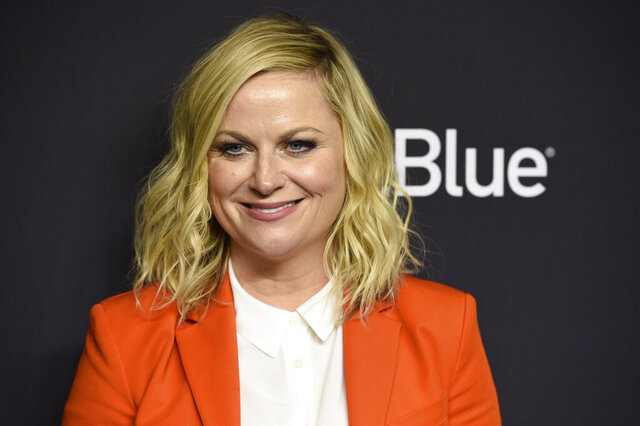 FILE - In this March 21, 2019 file photo, Amy Poehler arrives at the