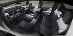 This photo provided by General Motors Co. shows the interior of the 2022 GMC Hummer EV. On Tuesday, Oct. 20, 2020, the company's GMC brand introduced the new electric Hummer pickup, with a high-end version due in showrooms sometime in the fall of 2021. (Courtesy of General Motors Co. via AP)