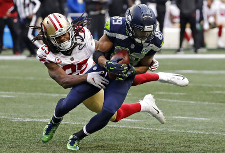APTOPIX 49ers Seahawks Football