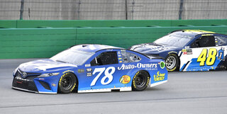NASCAR Kentucky Auto Racing