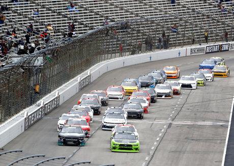 NASCAR Texas XFinity Auto Racing