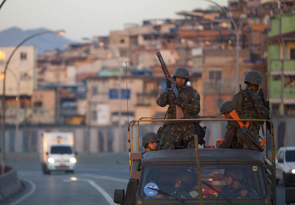 Brazil Rio Olympics Security